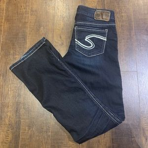 Silver Jeans Frances Dark Wash Boot Cut 27 x 33